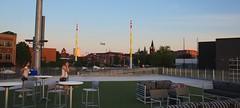 2442263489 (jalexartis) Tags: fayetteville fayettevillenc fayettevillenorthcarolina downtown downtownfayetteville segra segrastadium stadium baseball ballpark inaugralseason inaugral sunset lighting