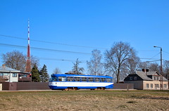 95697 (220 051) Tags: strasenbahn tram tramway tranvia trambahn חשמליה 市内電車 路面電車 有轨电车 有軌電車 trikk tramwaj трамвай eléctrico villamos električka tranvai sporvogn spårvagn ترامواى tranvía carro raiitiovaunu τραμ streetcar riga 077