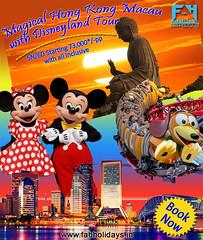 Magical Hong Kong Macau with Disneyland Tour (fabholidays) Tags: