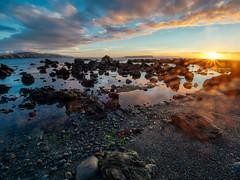 Anzac Sunset (stewartbaird) Tags: autumn plimmerton beach newzealand nature sundown sky shore wellington fall landscape sea