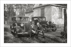 Vehicle Collection (9538) - Chevrolet and Chevrolet (Steve Given) Tags: familycar motorvehicle automobile chevrolet 1930s