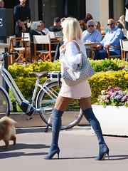20190417-163827 (ze06) Tags: candid street cannes croisette sexy girl gorgeous glamour fashion woman blonde sunglasses dentelle skirt miniskirt resille pantyhose leggings boots heels legs vuitton