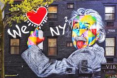 "Einstein by Eduardo Kobra - NYC 2019 • <a style=""font-size:0.8em;"" href=""http://www.flickr.com/photos/134414577@N06/33816832918/"" target=""_blank"">View on Flickr</a>"