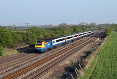 43066 43048 Cossington (CD Sansome) Tags: cossington east midlands trains stagecoach emt train hst high speed 43 43066 43048 mml midland main line