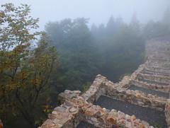 Sumela Monastery (LeelooDallas) Tags: sumela monastery asia europe turkey trabzon dana iwachow dragoman overland silk road trip october 2018 landscape tree forest fog architecture