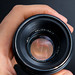 Front view of a Helios 44-2 58mm F2