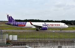 HK Express, B-LEB, Airbus A321-231 at NRT (tokyo70) Tags: japan travel tour hkexpress a321