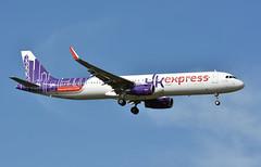 HK Express, B-LEG, Airbus A321-231 at NRT (tokyo70) Tags: japan travel tour hkexpress a321