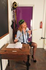 How many is too many? (sytog123) Tags: milf mature classroom schoolgirl sexy stockings saucy suspenders schooltie short skirt shortskirt slutty sex legs heels highheels high naughty