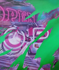 OPEN (SERGEY AKRAMOV) Tags: sergeyakramov сергейакрамов graffiti graffuturism postgraffiti artwork art abstract acrylic aerosol abstraction acryl alvitrgallery fineart sprayart paint painting streetart canvas
