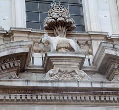 Lecce (Apulia-Italia). Vía Vittorio Emanuele II. Iglesia de Santa Irene. Portada. Detalle (santi abella) Tags: lecce apulia puglia italia