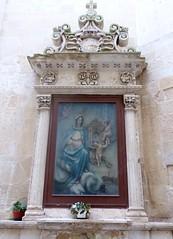 Lecce (Apulia-Italia). Altar en la calle (santi abella) Tags: lecce apulia puglia italia