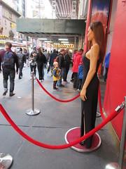 Wax Angelina Jolie sidewalk display Madame Tussauds 7143 (Brechtbug) Tags: wax angelina jolie sidewalk display madame tussauds 42nd street midtown manhattan museum nyc 04252019 new york city 2019 birthday royal uk england brit britain british tussaud s mannequin mannequins dummies dummy