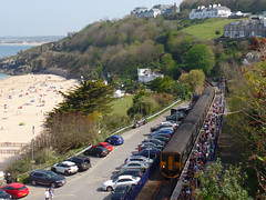 150234 & 150244 St Ives (3) (Marky7890) Tags: gwr 150234 2a31 class150 sprinter stives railway cornwall stivesbayline train