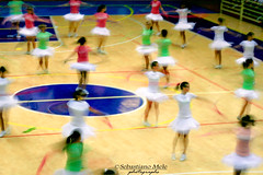 danzatrici (ninomele) Tags: dance ballo latina colors canon sport lowmotion girls