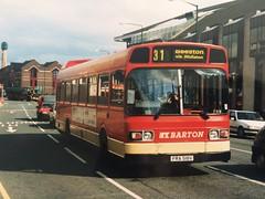 FRA 518V (nevetsyam1404) Tags: broadmarshbusstation bartonbuses barton trentmotortraction trentbuses trent b52f 11351a1r national leyland leylandnational leylandnational11351a1r 518 fra518v