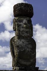 A Moai of Ahu Tongariki (Michael Laudij) Tags: michaellaudij easterisland isladepascua rapanui southpacific pacific island southamerica chile moai headsofmoai ahu ahutongariki statue unesco monument legacy legend legendary nikon d850 history heritage polynesia