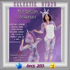 Eclectic Stars - Buttercup - Stardust (Jadziyah) Tags: eclecticstars sl secondlife maitreya belleza slink