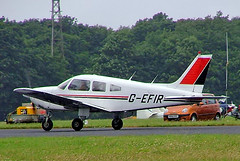 G-EFIR   Piper PA-28-181 Archer II [28-8090275] Kemble~G 01/07/2005 (raybarber2) Tags: 288090275 airportdata cn288090275 cancelled egbp filed flickr gefir planebase raybarber single ukcivil writtenoff