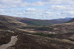 Descent into Glen Lui (steve_whitmarsh) Tags: aberdeenshire scotland scottishhighlands highlands mountain hills landscape cairngorms path glen glenlui valley topic