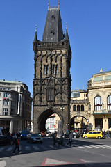 The Powder Gate (littlestschnauzer) Tags: prague powder tower landmark tourist destination 2019 spring april visit czech city historic