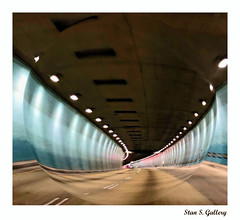 Hawaii - Tunnel Vision (Stan S. Gallery) Tags: hawaii tunnel road lines lights