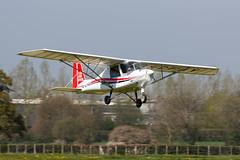 G-CFAV Comco Ikarus C42 FB80 (amisbk196) Tags: unitedkingdom aviation flickr amis airfield headcorn 2019 kent uk lashenden gcfav comco ikarus c42 fb80
