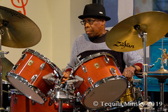 TQ-BX-0103 (teqmin) Tags: center culture bronx bronxmusicheritagecenter folklore bronxrising roots rootsofmusicofcaribbeanbasin haitian haiti bobbysanabria andrewcyrille puertorican jamming latin professors drumming drums percussion