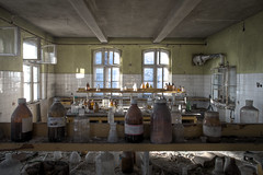 LAB (jkatanowski) Tags: urbex urban exploration europe poland indoor lab lost lostplace abandoned forgotten decay derelict decaying decayed destruction destroyed bottles chemistry sony a7m2 1740mm laboratory