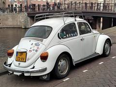 1983 Volkswagen 1200 (harry_nl) Tags: netherlands nederland 2019 haarlem volkswagen 1200 beetle käfer jp72xv sidecode4