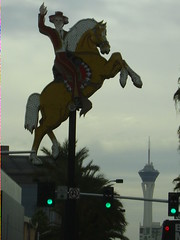 Img0028 (rugby#9) Tags: cloud sky america sign horse cowboy lv us usa nevada lasvegas outdoor stratosphere lights