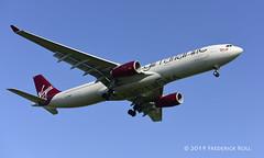 Virgin Atlantic A333 ~ G-VRAY (© Freddie) Tags: londonheathrow poyle heathrow lhr egll 09l arrivals virgin virginatlantic airbus a330 a333 gvray misssunshine fjroll ©freddie