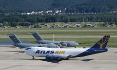Atlas Air 747-400F (airforce1996) Tags: military usairforce usmilitary aircraft airplane airforce aviation usaf germany luftwaffe raf nato rhinelandpfalz deutschland ramstein ramsteinairbase