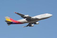 "Asiana Airlines, Boeing 747-400F  HL7415 NRT (masak2_ukon) Tags: narita 成田 airplanes chibaken ""ú–{"