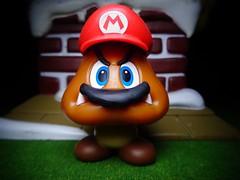 Mario Goomba (ridureyu1) Tags: goomba cappygoomba supermarioodyssey cappy nintendo worldofnintendo jfigure toy toys actionfigure toyphotography sonycybershotsonycybershotdscw690