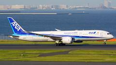 Boeing 787-9, JA895A, All Nippon Airways (tkosada.mac) Tags: allnipponairways staralliance dreamliner boeing b789 tokyointernationalairport hanedaairport hnd rjtt
