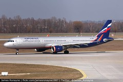 VP-BEW | Airbus A321-211 | Aeroflot - Russian Airlines (james.ronayne) Tags: vpbew airbus a321211 aeroflot russian airlines a321 su afl munich muc eddm aeroplane airplane plane aircraft airliner aviation flight flying canon 80d 100400mm raw sky jet