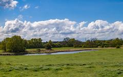 """Sunny intervals""....... (DeePee64) Tags: landscape rivernene castorheightsnearpeterboroughuk fields grassland pastures"