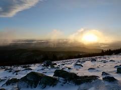 Aurore au Mont Aigoual (laudato si) Tags: aigoual cévennes neige snow montagne mountain landscape gard france aurore sunrise sun