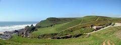 Sandymouth (Worthing Wanderer) Tags: cornwall coast cornwallcoast cliffs countryside coastline may sunny southwestcoastpath