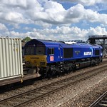 66047 on 4L45 Wakefield to Felixstowe passing Lincoln 12:03 26/04/2019 thumbnail