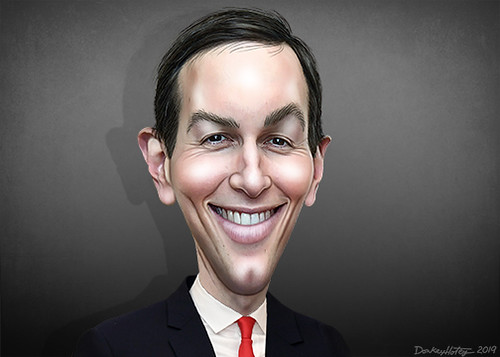Jared Kushner - Caricature