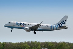 Flybe - Embraer ERJ-175 [G-FBJK] at Luxembourg Airport - 22/04/19 (David Siedler) Tags: flybe embraer erj175 embraererj175 gfbjk luxembourg findel airport luxembourgairport findelairport ellxlux