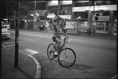 manusculas miyusculas (Nando.uy) Tags: nandouy montevideo uruguay fuji gw690ii ilford delta 3200 film analog 120 120film medium format 6x9 street streetphotography rangefinder bicicleta bicycle filmisnotdead buyfilmnotmegapixels