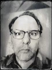 Dreaded First Pair of Glasses (swanksalot) Tags: glasses tintype selfportrait selfie seth mortality 50 blogthis explore explored