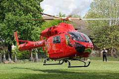 London's Air Ambulance in Willesden (kertappa) Tags: img6483 air ambulance londons london hems doctor paramedics hospital gehms emergency helicopter kertappa willesden st marys