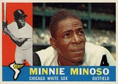Saturnino Orestes Armas Minoso Outfield Chicago White Sox 1960 Topps Baseball Card No. 365 (ROGALI) Tags: saturninoorestesarmasminoso minnieminoso outfielder chicagowhitesox baseball baseballcards 1960toppsbaseballcardno365 baseballcubano cubanbaseball peloteroscubanos rogali