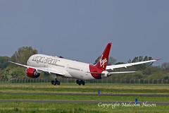 B787-9 G-VDIA VIRGIN ATLANTIC (shanairpic) Tags: jetairliner passengerjet b787 boeing787 dreamliner shannon virgin gvdia
