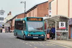 Arriva 2603 / YJ61 JFK (TEN6083) Tags: northshields bedfordstreet m810 solo optare yj61jfk 2603 arriva arrivanortheast transport publictransport bus buses nebuses