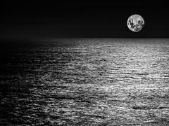 Noche de luna, La Pedrera, Rocha, Uruguay
